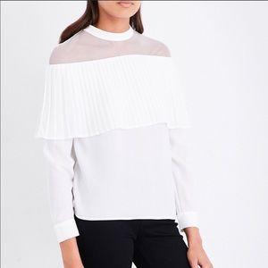 Maje white blouse